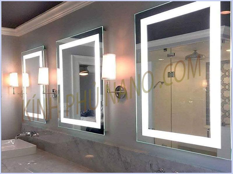 Gương đèn led cho phòng tắm