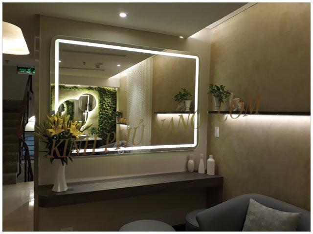 Gương đèn led cho Spa