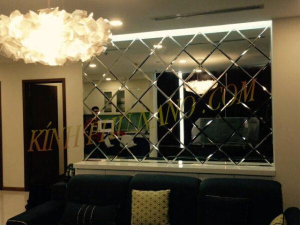 Gương trang trí phòng khách