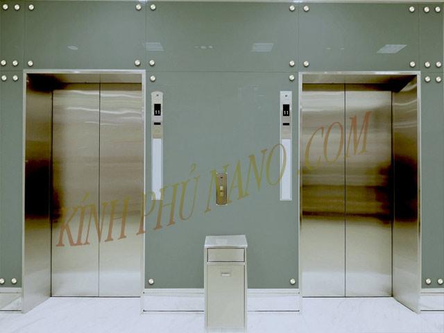 Kính phủ nano - Đại lý cung cấp kính màu dán thang máy