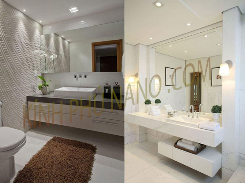 Thiết kế gương phòng tắm đẹp