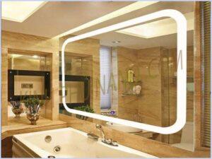 Gương đèn led cảm ứng cho nhà tắm