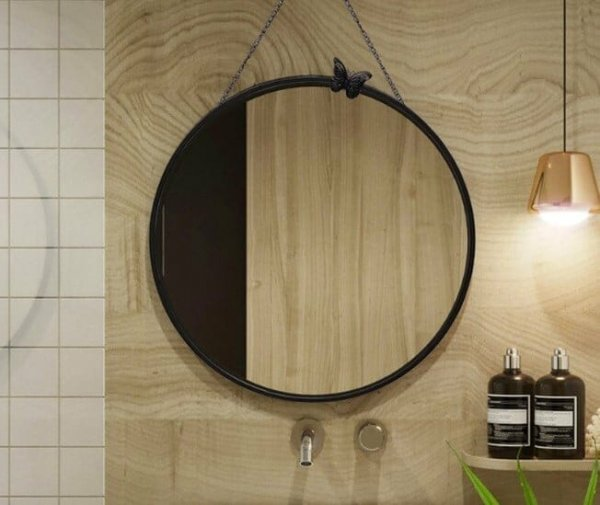 Hình gương phòng tắm decor đẹp