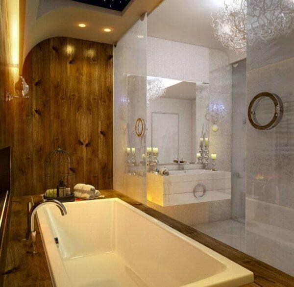 Gương phòng tắm ghép trang trí cao cấp